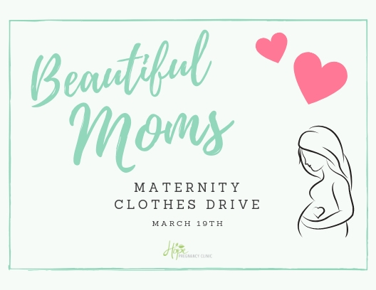 Beautiful Moms Maternity Clothes Drive